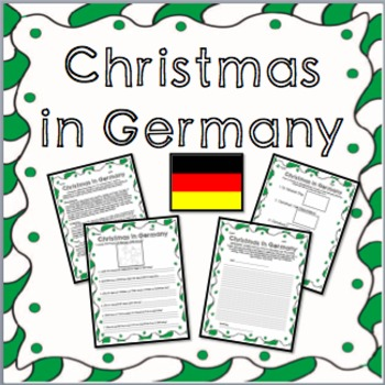 Christmas in Germany -  Informational Text, Questions, and Fun Activities!