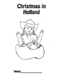 Christmas in Holland booklet