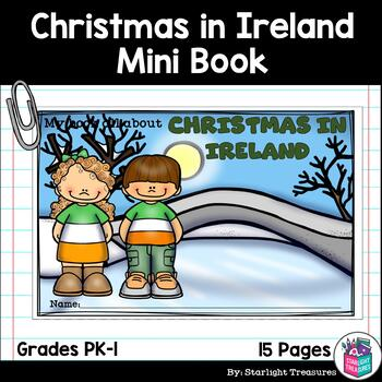 Christmas in Ireland Mini Book for Early Readers - Christmas Activities