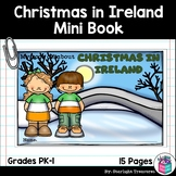 Christmas in Ireland Mini Book for Early Readers - Christm