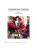 Christmas in Italy Comprehension Questions for MyOn Story