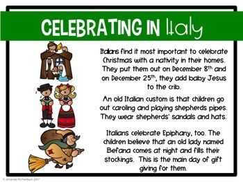 Christmas in Italy Powerpoint and Digital Resource with Google Slides™