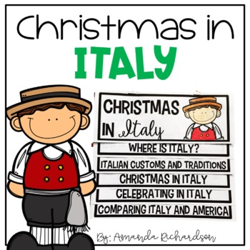 Christmas in Italy Flip Up Book