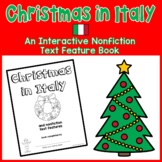 Christmas in Italy: Interactive Nonfiction Text Features Book