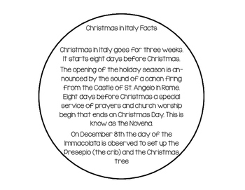 Christmas in Italy Interactive Reader