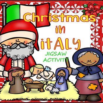 Christmas in Italy Jigsaw Activity