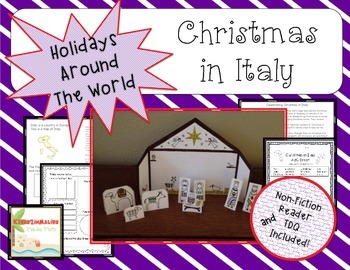 Christmas in Italy Mini Unit- Common Core Aligned