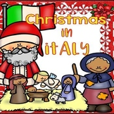 Christmas in Italy PPT, Reading, and Activity Pages BUNDLE