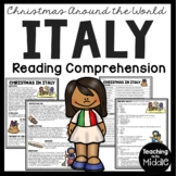 Christmas in Italy Reading Comprehension; Christmas Around the World