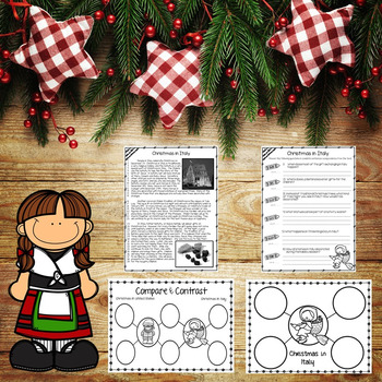 Christmas in Italy Reading Passage Nonfiction Text & Questions