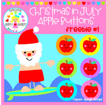 Christmas in JULY: Clipart Freebie #1