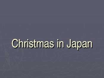 Christmas in Japan Powerpoint