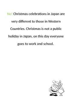 Christmas in Japan Powerpoint and Booklet