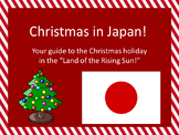 Christmas in Japan Powerpoint and Guided Notes