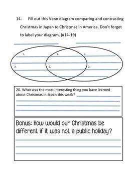 Christmas in Japan Test