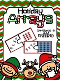 Holiday Arrays! Multiplication Puzzle Workstation