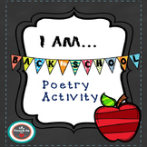 """I Am..."" poetry activity"