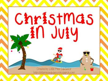 Christmas in July-Color by sight word activites