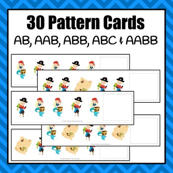 Pattern Cards: Pirate Pattern Cards