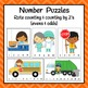 Number Puzzles: Community Helpers Number Puzzles