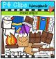 CHRISTMAS IN JULY Surprise BUNDLE (P4 Clips Trioriginals Clip Art)