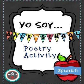 "Spanish ""I am"" poetry activity"