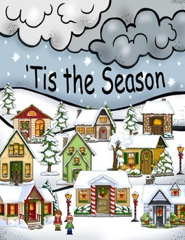 Christmas in July Tis the Season Binder Task