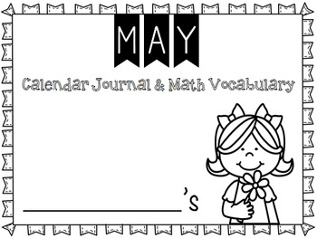 Calendar Journal ~ May