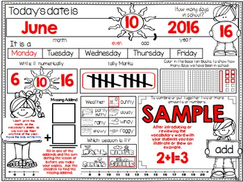 Calendar Journal ~ June