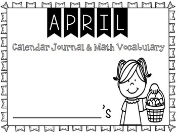 Calendar Journal ~ April