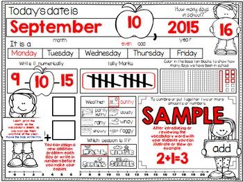 Calendar Journal ~ September