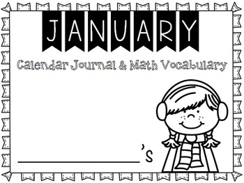 Calendar Journal ~ January