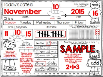 Calendar Journal ~ November