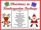 Christmas in Kindergarten Learning Centers