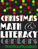 Christmas in Kindergarten: Math & Literacy Winter/Christma