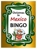 Christmas in Mexico BINGO + 12 bonus pages of vocabulary words
