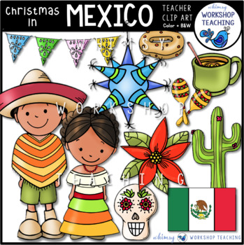 Christmas in Mexico Clip Art
