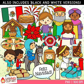 Christmas in Mexico Christmas Clip Art