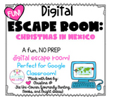 Christmas in Mexico: Digital Escape Room | Distance Learni