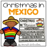 Christmas in Mexico Flip Up Book