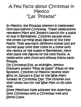 "Christmas in Mexico ""Las Posadas"""