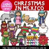 Christmas in Mexico {Las Posadas} Clipart for Teachers