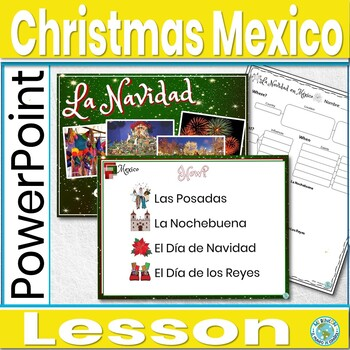 Christmas in Mexico Lesson With Guided Notes