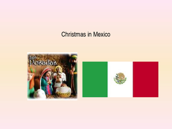 Christmas in Mexico Powerpoint