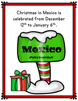 Christmas in Mexico Reader (Christmas Around the World Booklet)