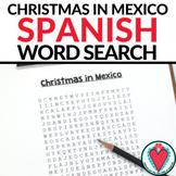 Spanish Christmas in Mexico Activity - Las Posadas Word Search