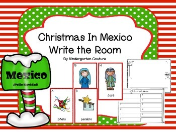 Christmas in Mexico -Write The Room