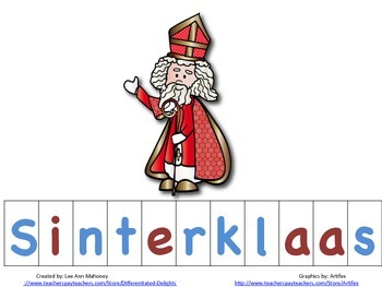 Christmas in Netherlands Spelling