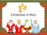 Christmas in Peru PowerPoint