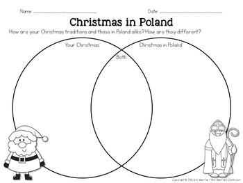 Christmas in Poland FREEBIE